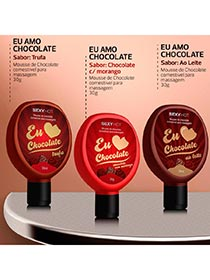 Eu Amo Chocolate - Gel Comest�vel para Massagem - Trufa